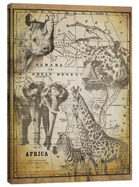 Lienzo  The Spirit of Africa - Andrea Haase