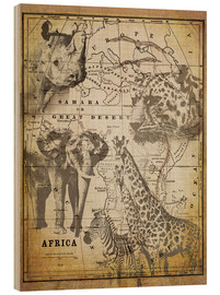 Madera  The Spirit of Africa - Andrea Haase