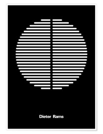 Póster  Dieter Rams - THE USUAL DESIGNERS