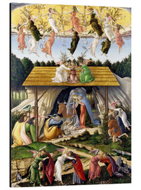 Cuadro de aluminio  Mystical Birth - Sandro Botticelli