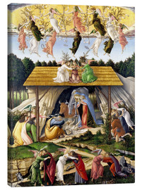 Lienzo  Mystical Birth - Sandro Botticelli