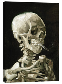 Vincent van Gogh - Skeleton with a burning cigarette