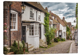 Lienzo  Mermaid Street in Rye, East Sussex (England) - Christian Müringer