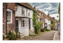 Póster  Mermaid Street in Rye, East Sussex (England) - Christian Müringer