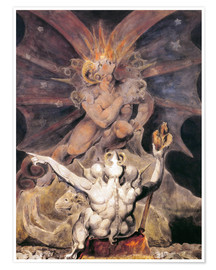 Póster  El número del animal es 666 - William Blake