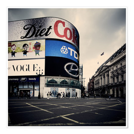 Póster Picadilly Circus - London