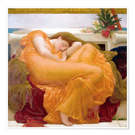 Póster  Flaming June - Frederic Leighton