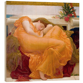 Madera  Flaming June - Frederic Leighton