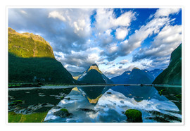 Póster Milford Sound III
