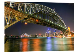Cuadro de metacrilato  Sydney Harbour Bridge I - Thomas Hagenau