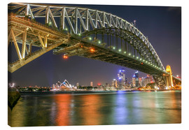 Lienzo  Sydney Harbour Bridge I - Thomas Hagenau