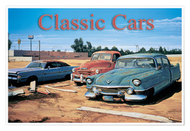 Póster  Classic Cars - Georg Huber
