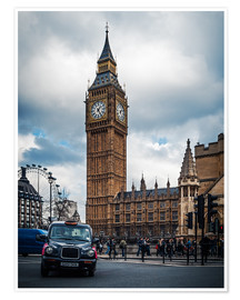 Póster  London - Big Ben - Alexander Voss