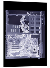 Cuadro de metacrilato  Computer, simulated X-ray - Mark Sykes