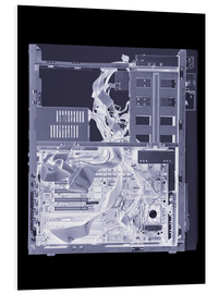 Cuadro de PVC  Computer, simulated X-ray - Mark Sykes