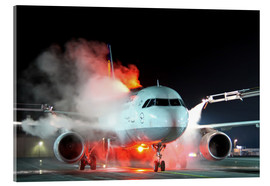 HADYPHOTO by Hady Khandani - LUFTHANSA AIRBUS A320 DURING DE ICING