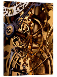 Cuadro de metacrilato  Internal gears within a clock - David Parker