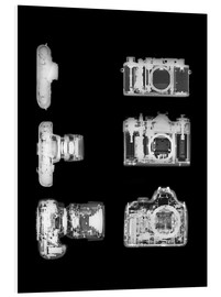 Cuadro de PVC  X-ray of a digital camera - PhotoStock-Israel