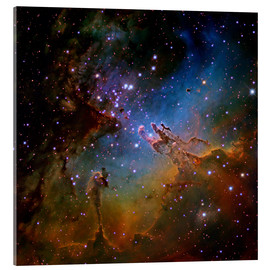 Cuadro de metacrilato  Eagle Nebula, optical image - Robert Gendler