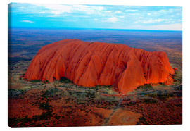 Lienzo  Uluru (Ayers Rock) at sunset - I. Schulz