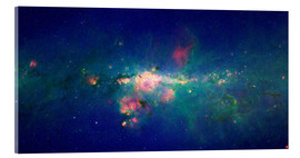 Cuadro de metacrilato  Milky Way (infrared image) - NASA