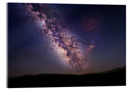 Cuadro de metacrilato  Milky Way over California, USA - Tony & Daphne Hallas