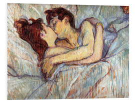Forex  In Bed The Kiss - Henri de Toulouse-Lautrec