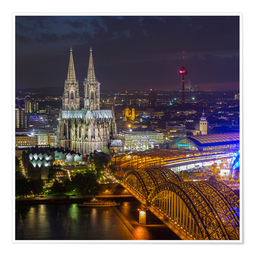 Póster Cologne Cathedral