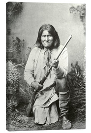 Lienzo  Chief Geronimo