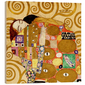 Madera  The Hug - Gustav Klimt