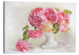 Lienzo  pink roses - Lizzy Pe