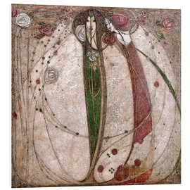 Forex  The White Rose And The Red Rose - Margaret MacDonald Mackintosh