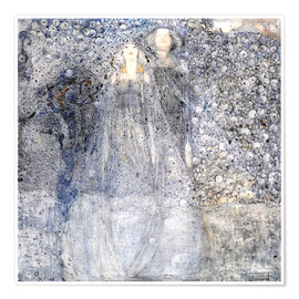 Póster  Silver Apples - Margaret MacDonald Mackintosh