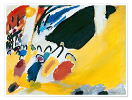 Póster  Impression III (Concert) - Wassily Kandinsky