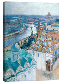Lienzo  View of Moscow - Nikolaj Grizenko