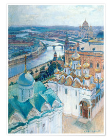 Póster  View of Moscow - Nikolaj Grizenko