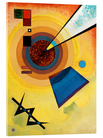 Cuadro de metacrilato  Green and red - Wassily Kandinsky