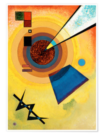 Póster  Green and red - Wassily Kandinsky