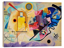 Wassily Kandinsky - Yellow, red and blue