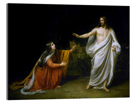 Cuadro de metacrilato  Christ's Appearance to Mary Magdalene after the Resurrection - Aleksandr Andreevich Ivanov