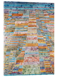Metacrilato  Main path and Byways - Paul Klee