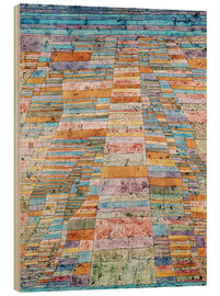 Madera  Main path and Byways - Paul Klee