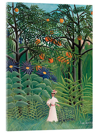 Metacrilato  Woman in an exotic forest - Henri Rousseau
