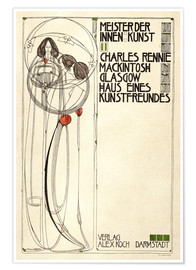 Póster  House of an art lover: Cover - Charles Rennie Mackintosh