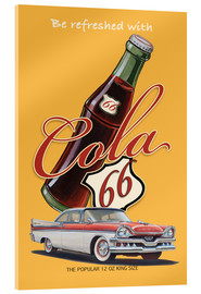 Cuadro de metacrilato  Cola 66 Advertising - Georg Huber
