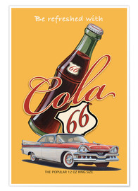 Póster  Cola 66 Advertising - Georg Huber