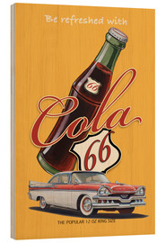 Cuadro de madera  Cola 66 Advertising - Georg Huber