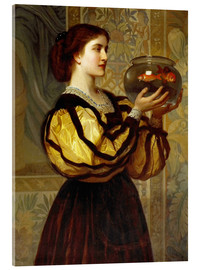 Cuadro de metacrilato  The Goldfish Bowl - Charles Edward Perugini
