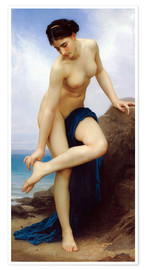 Póster  After the bath - William Adolphe Bouguereau