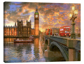 Dominic Davison - Westminster sunset